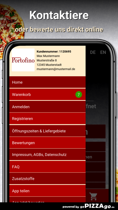 Pizzeria Portofino Duisburg screenshot 3