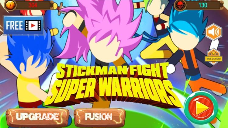Stickman Fight: Super Warriors screenshot-0