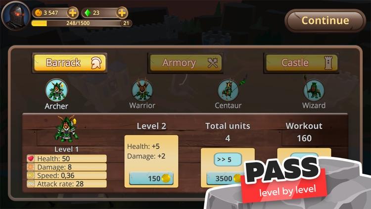 Legion of Defenders: Tower War screenshot-3