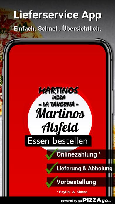 Martinos Pizza Alsfeld screenshot 1