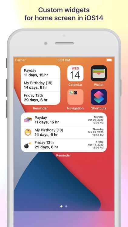 Reminder & Countdown Pro screenshot-5
