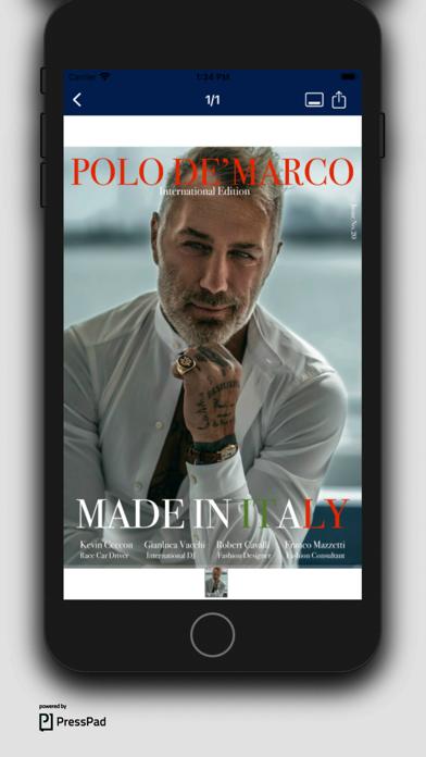 Polo De'Marco MagazineScreenshot of 3