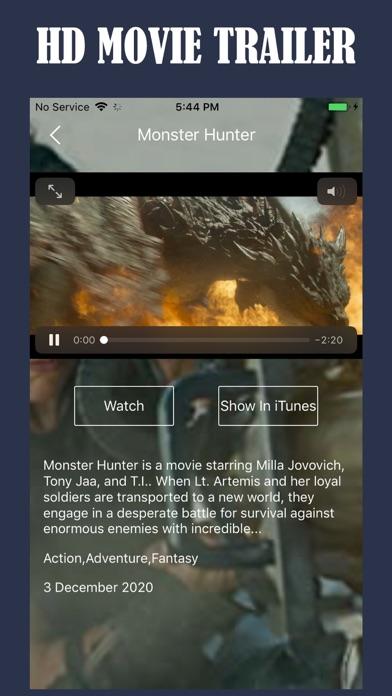Screen Shot Tuner Radio Movies Player 2