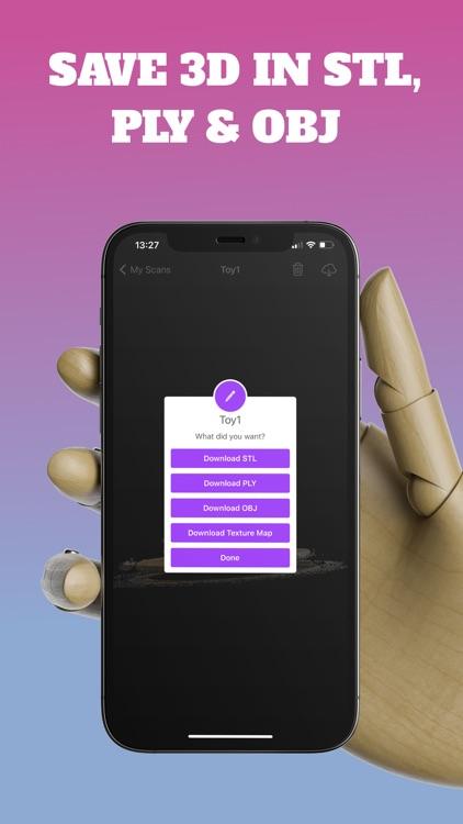 3D Scanner App screenshot-8
