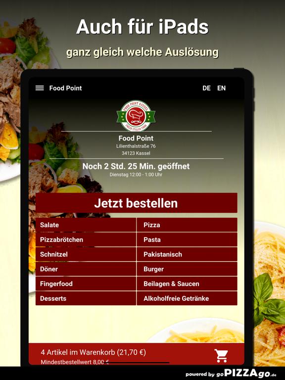 Food Point Kassel Pizza screenshot 7