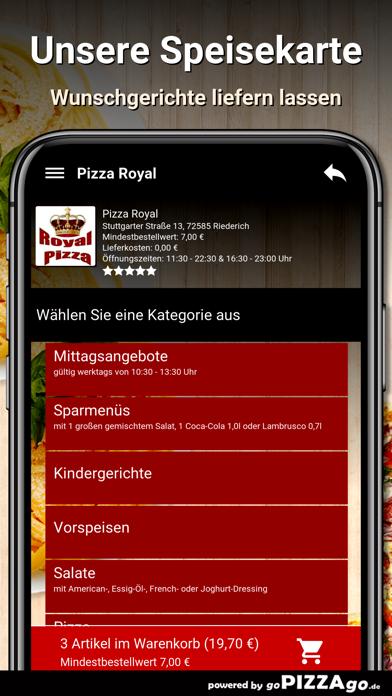 Pizza Royal Riederich screenshot 4