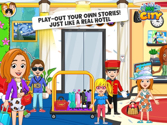 My City : Hotel screenshot 8