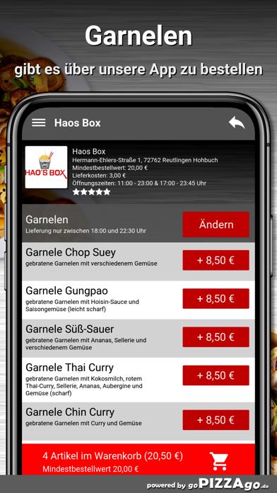 Haos Box Reutlingen Hohbuch screenshot 6