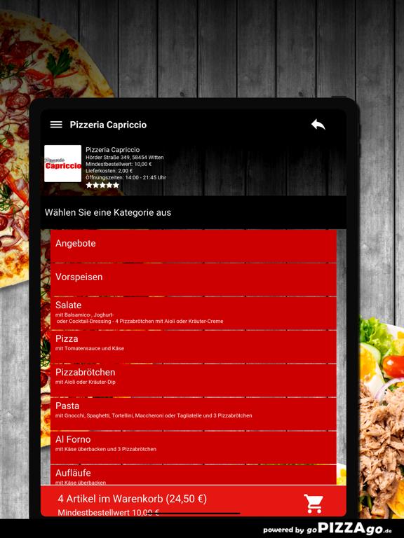Pizzeria Capriccio Witten screenshot 8