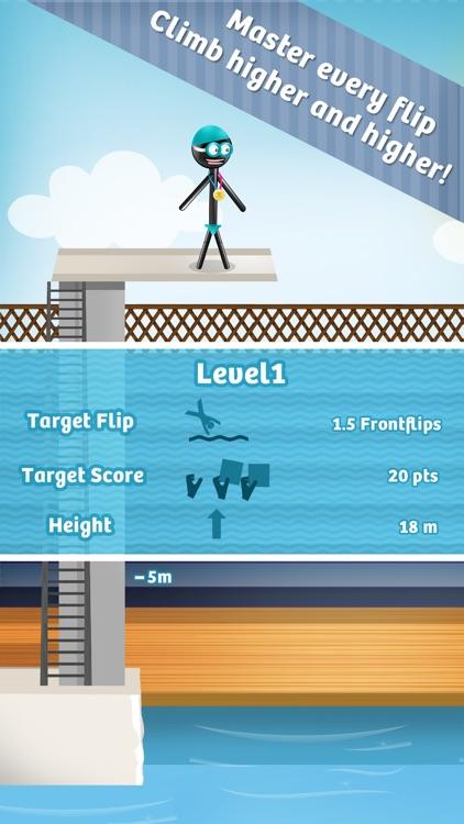 Stickman High Diving screenshot-3