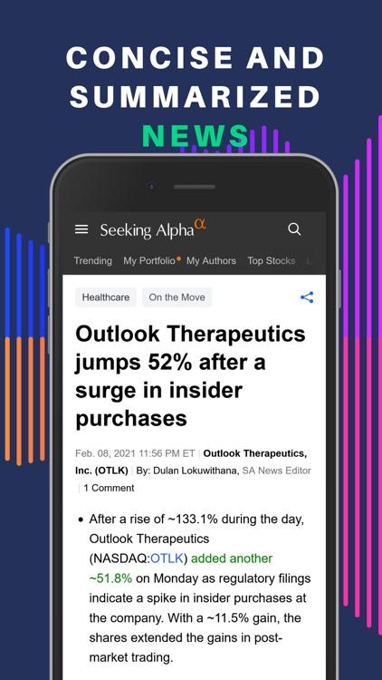 Seeking Alpha: News & Analysis screenshot-5