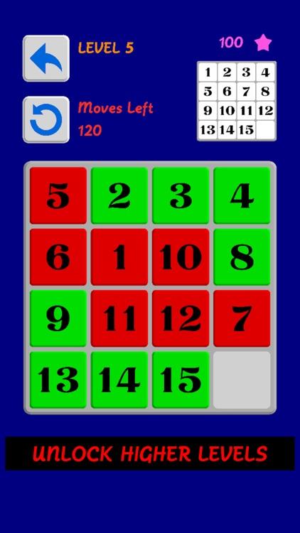 Sort It 单机智力小游戏, 数字滑块, 经典手机小游戏 screenshot-4