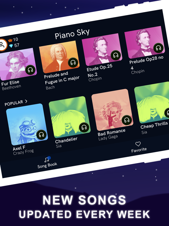 Piano Sky: Piano Magic Games screenshot 7
