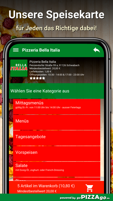 Bella Italia Schwabach screenshot 6