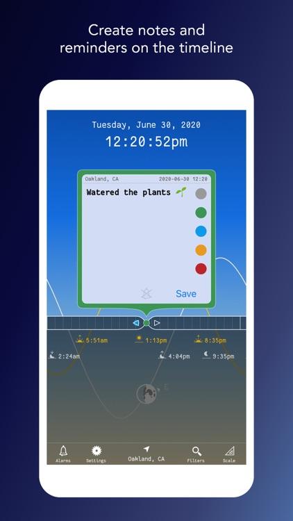 Suntime — Sun Moon Timeline screenshot-3