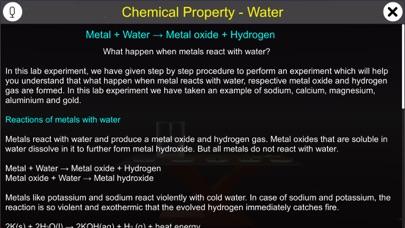 Chemical Property - Water screenshot 1
