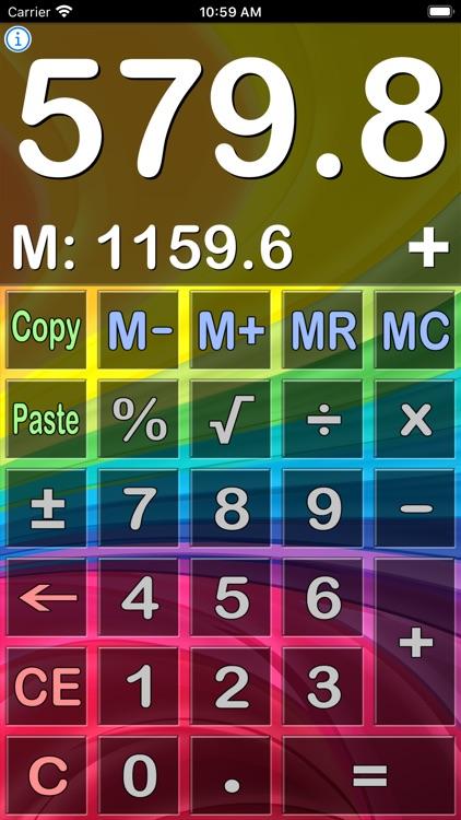 Easy Calculator - Basic Calc screenshot-4