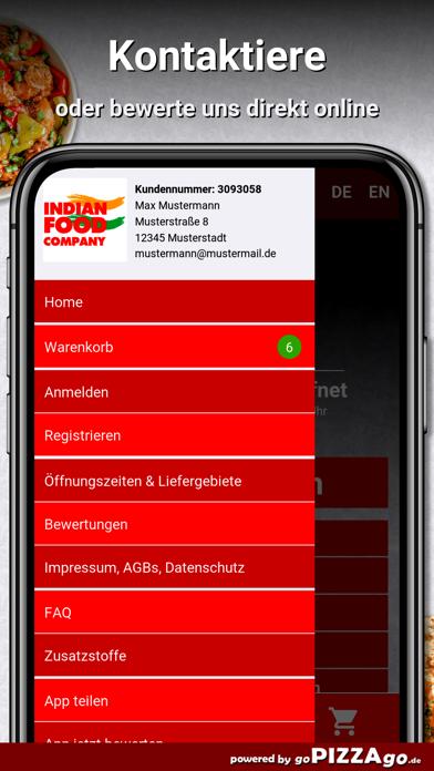 Indian Food Company Köln screenshot 3