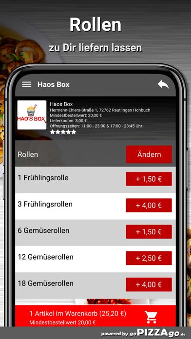 Haos Box Reutlingen Hohbuch screenshot 5