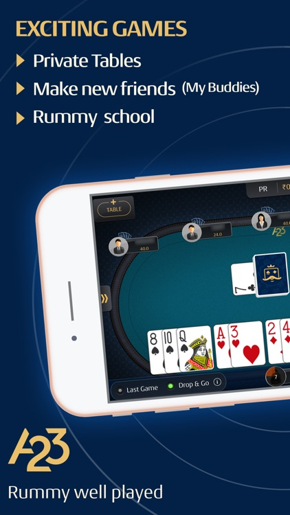 A23 - Ace2Three   Indian Rummy