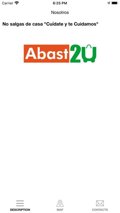 Screenshot of Abast2U App