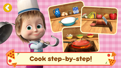 Screen Shot Masha and the Bear Pizzeria! 2