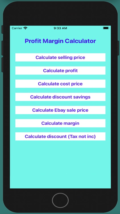 Business Cost Calculation