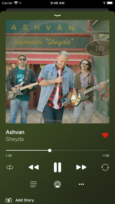 Radio Javan screenshot three