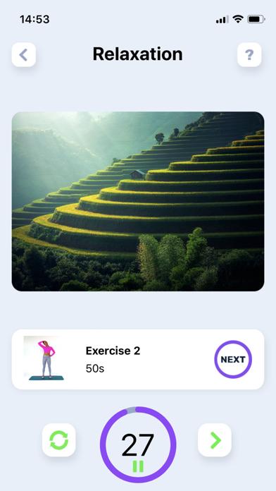 ストレッチ体操。 柔軟性トレーニング紹介画像2