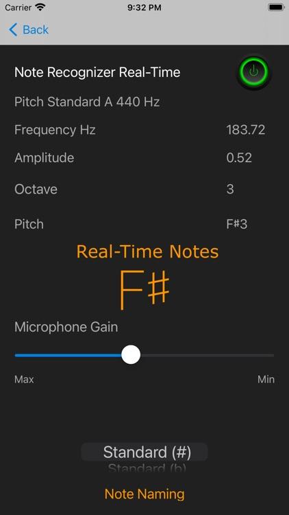 Note Recognizer Vocal Trainer
