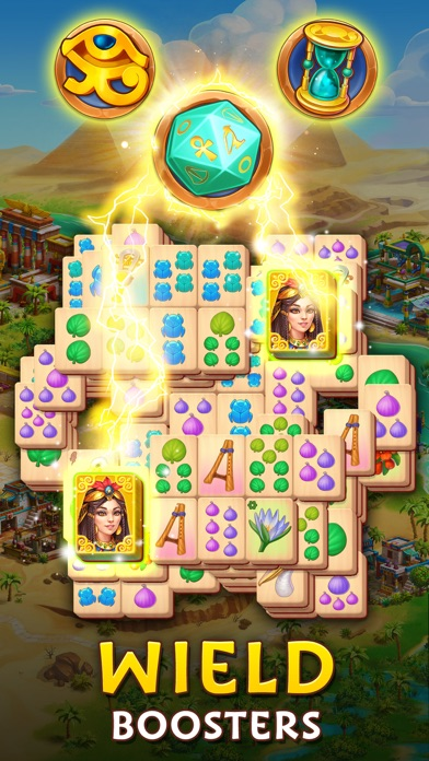 Pyramid of Mahjong: Tile Match screenshot 2