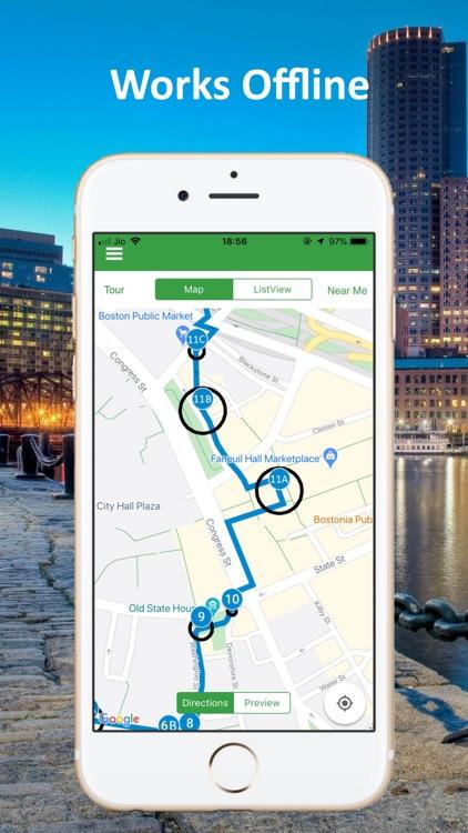 Boston Audio GPS Tour Guide screenshot-4