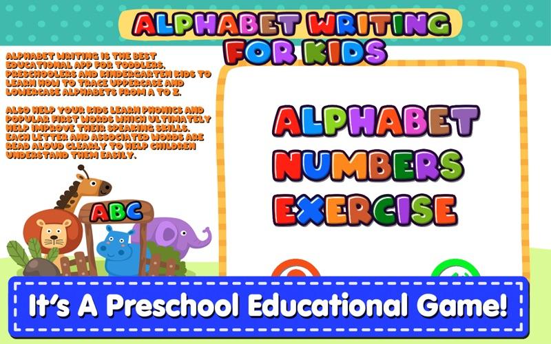 Alphabet Writing For Kids screenshot 3