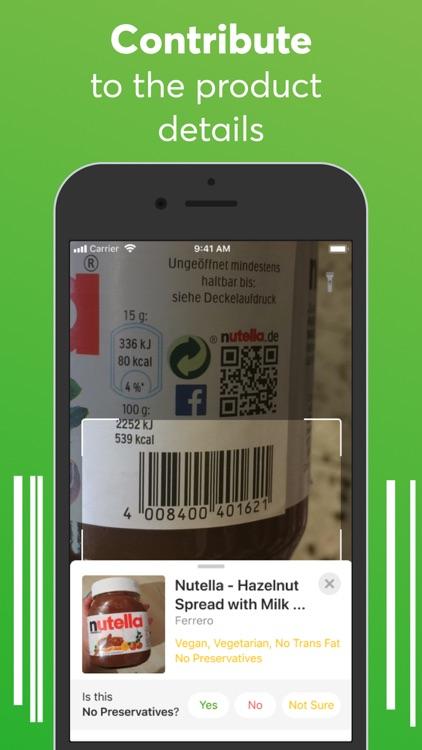 Food scanner: gluten, allergen screenshot-4