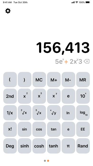Taschenrechner AirScreenshot von 6