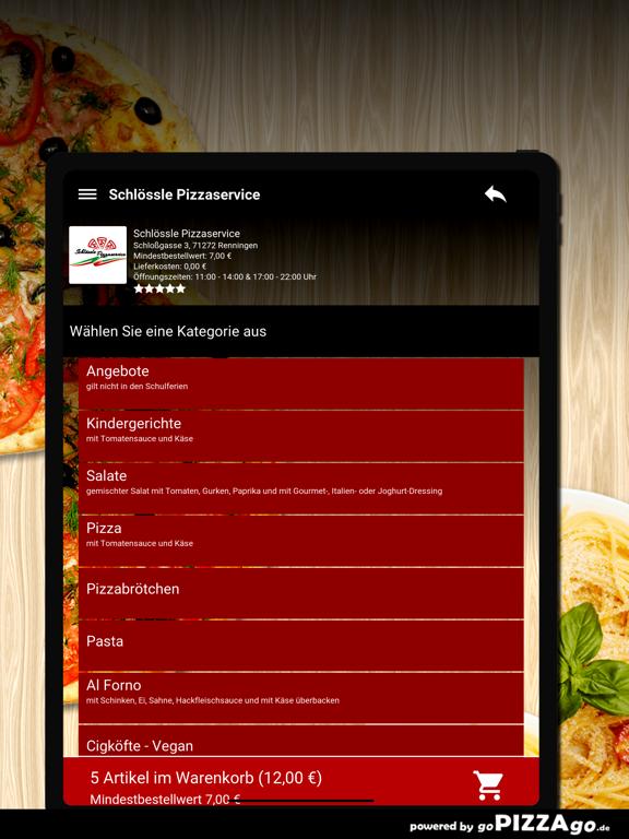 Schlössle Pizzaservice screenshot 8