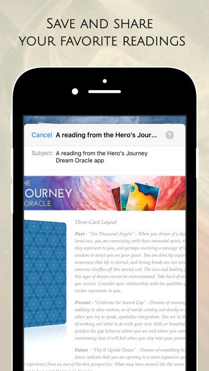 Hero's Journey Dream Oracle screenshot-8