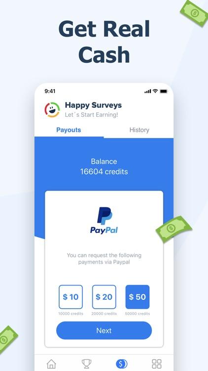 Happy Surveys – Easy Cash App screenshot-3