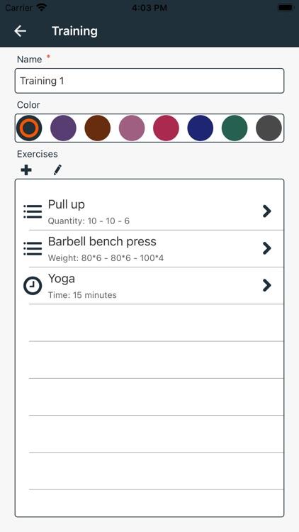 Workout Planner Pro+ screenshot-3