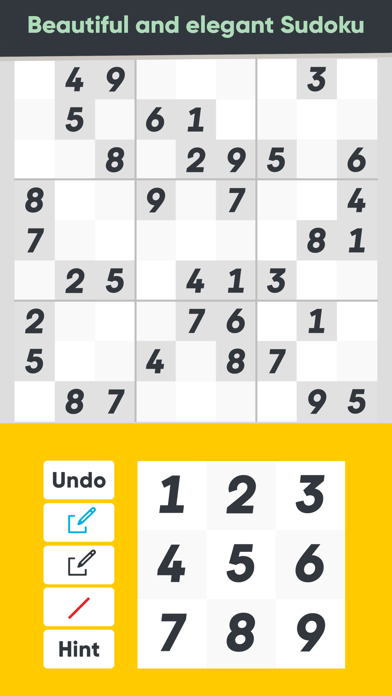 Good Sudoku by Zach Gage screenshot #1