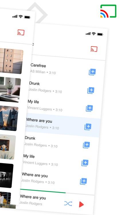 Cast for chromecast app home screenshot-3