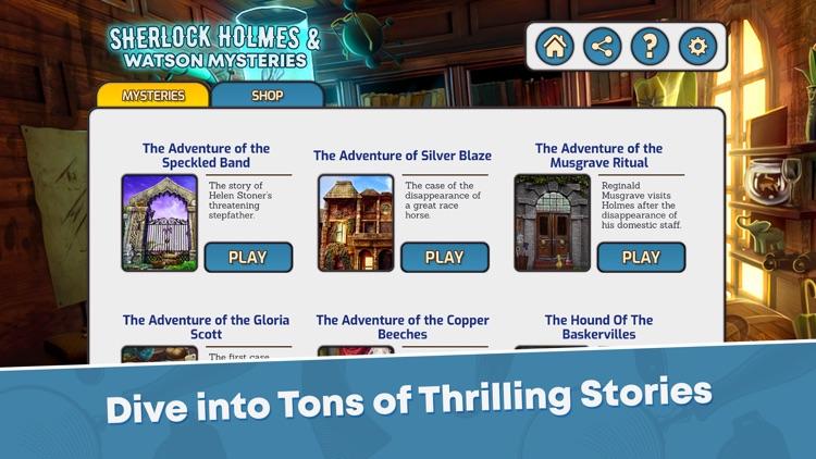 Sherlock Holmes Hidden Objects screenshot-4