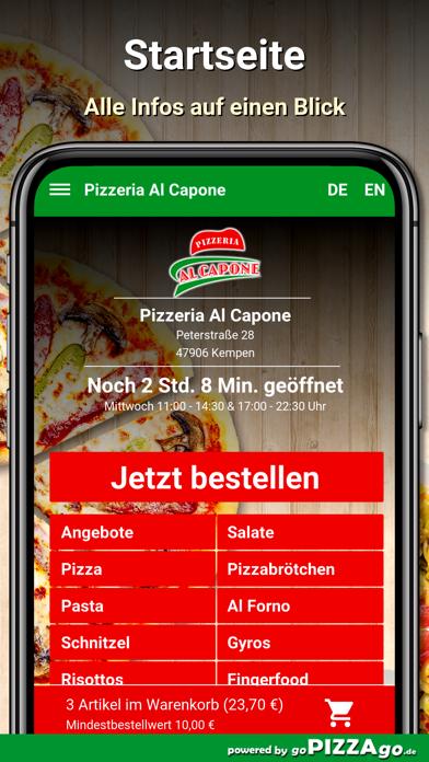 Pizzeria Al Capone Kempen screenshot 2