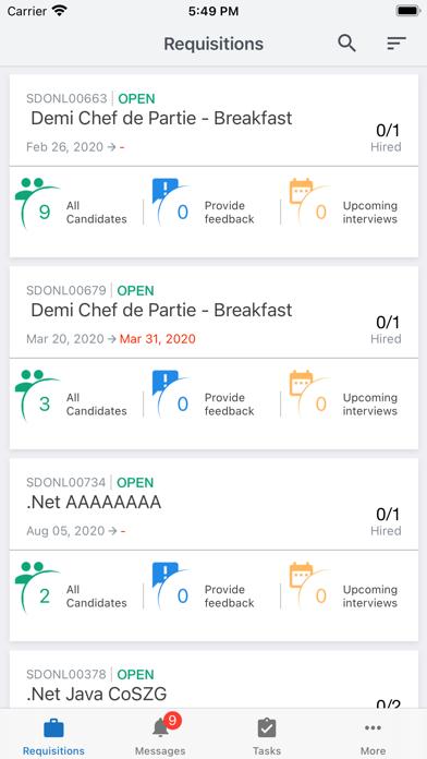 messages.download Saba TalentLink software