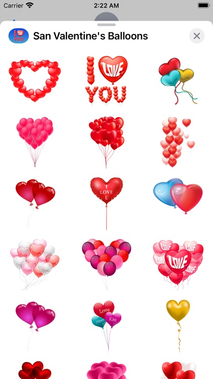San Valentine's Balloons