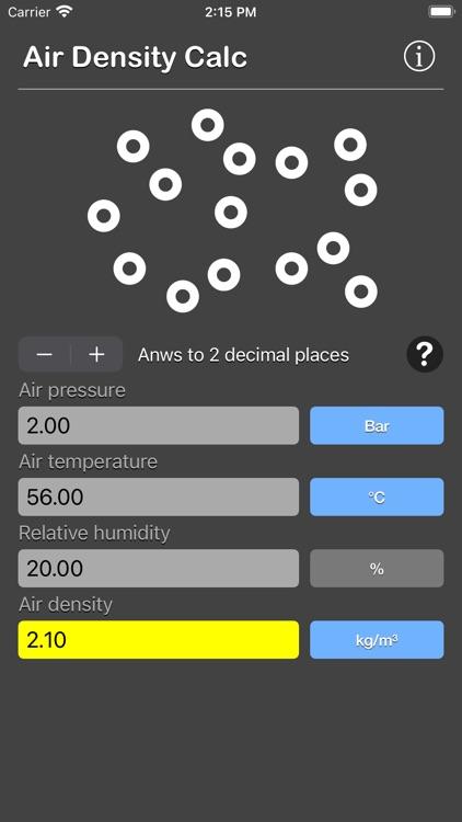 Air Density Calculator screenshot-5
