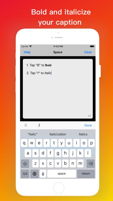 Add Line Breaks for Instagram screenshot 2