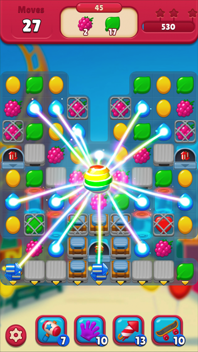 Bunny's journey: Match 3 game Screenshot