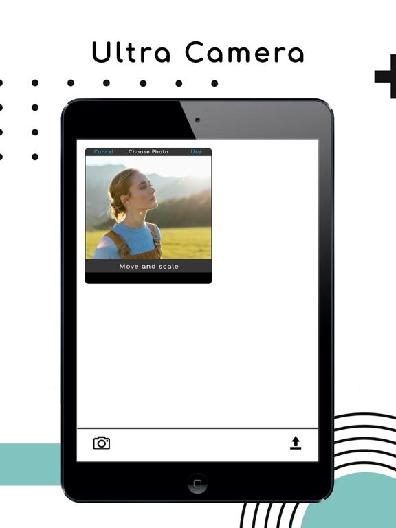 Ultra-High Pixel Camera Editor Screenshots