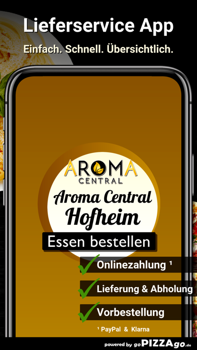Aroma Central Hofheim screenshot 1